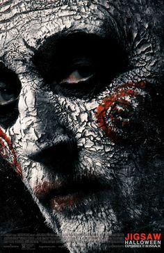 Jigsaw - film poster -> https://teaser-trailer.com/movie/saw-8/  #Jigsaw #Saw8 #MoviePoster