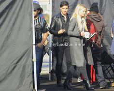 """Jennifer and Colin - Behind the scenes - 6*7 """"Heartless"""" - 20 September 2016"""
