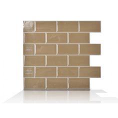 Subway Sand | Peel and Stick Tile Backsplash | Online Shop | Smart Tiles
