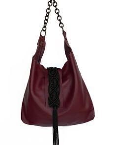 Destiny wine leather hobo bag Hobo Bag, Destiny, Urban, Queen, Wine, Leather, Bags, Fashion, Purses