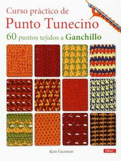 Curso Pr¨¢ctico De Punto Tunecino (El Libro De..) #ctico, #De, #Curso, #Pr Tunisian Crochet Stitches, Crochet Motif, Crochet Designs, Crochet Hooks, Knit Crochet, Sewing Scarves, Crochet Scarves, Loom Knitting, Knitting Patterns