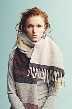 Holzweiler AW15 Collection - Tableau Pink Scarf