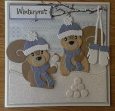 Squirrels! Maria's kaartjes