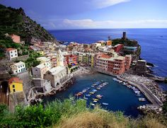 "I think Cinque Terre has definitely shot to the top of my ""must travel to"" list."
