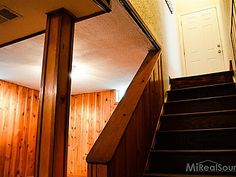 """1542 Oakley Rd, Clawson, MI 48017...yep..would climb up those steep stairs and open that door to get out of the basement!  great """"playground"""""""