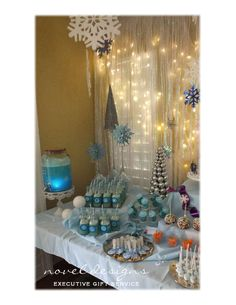 Disney Frozen Birthday Party Ideas | Photo 6 of 12 | Catch My Party