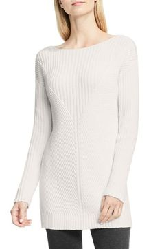 Vince Camuto Rib Knit Long Sweater (Regular & Petite) available at #Nordstrom