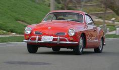 Conheça o Karmann-Ghia é convertido em carro elétrico +http://brml.co/1EuJixD