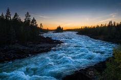 Rapides, quelque part au fil de la rivière Pite... Norbotten, Suède © Clément Racineux / Tonton Photo
