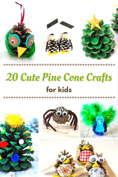 You're going to love every single one of these cute pine cone crafts! Your kids will have so much fun, and the best part is that the project base is free!
