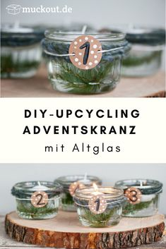 DIY and Crafts Christmas DIY idea: Alternative upcycling advent wreath .- DIY and Crafts DIY-Idee: Alternativer Upcycling-Adventskranz… DIY and Crafts christmas DIY idea: … - Upcycled Crafts, Diy Crafts To Sell, Diy Crafts For Kids, Christmas Advent Wreath, Christmas Paper, Advent Wreaths, Christmas Stockings, Diy Upcycling, Knitting Blogs