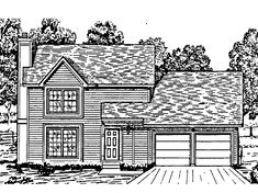 Eplans+Colonial+House+Plan+-+Three+Bedroom+Colonial+Revival+-+1200+Square+Feet+and+3+Bedrooms+from+Eplans+-+House+Plan+Code+HWEPL62488