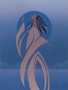 Moon Maiden by Maxine Noel (Ioyan Mani)~~ I love this painting.....I would love to own an original by this artist!