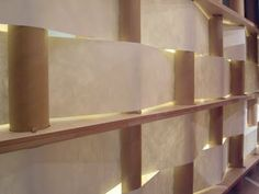 Hermès Paper Pavillon by Shigeru Ban at Milano Design Week.