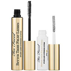 Too Faced - Better Than False Lashes Nylon Lash Extension System    Excellent! Really do make your lashes so big and full they look fake.