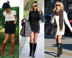 how to wear leggings with boots pictures | there are of course many ways to wear them so feel free to get ...