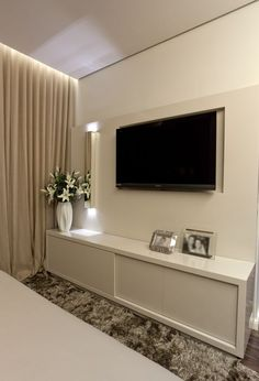 Painel tv branco