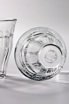 Duralex Small Picardi Glass for lattes, cortados, and espresso shots