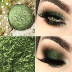 A linda sombra verde Humid da MAC What is Makeup ? What is Makeup ? Generally, what's makeup ? Makeup Kit, Makeup Inspo, Makeup Inspiration, Beauty Makeup, Hair Makeup, Makeup Geek, Makeup Remover, Makeup Guide, Green Eyeshadow