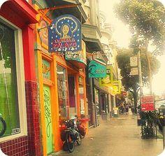 Haight Ashbury, San Francisco http://sheilablanchette.wordpress.com/2013/07/26/walking-day-73-recalibrating/
