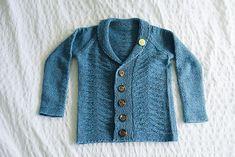 Ravelry: Boyne Lad Cardigan pattern by Sheila Toy Stromberg