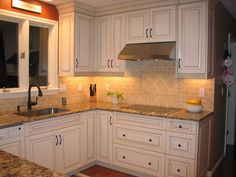 kitchen lighting desin ideas - Under cabinet lighting is always a good idea. #lighting