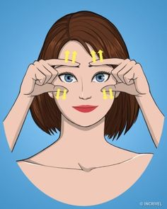 10 Exercises for a firm and healthy face- 10 Exercises for a firm and healthy face Face Skin Care, Diy Skin Care, Beauty Care, Beauty Hacks, Facial Yoga, Face Exercises, Hair Issues, Rides Front, Les Rides