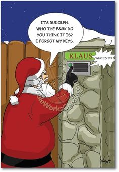 Funny Christmas Cartoons   Holiday Cartoons: Christmas/Halloween ...
