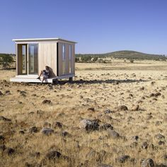 MODERN CABANA: These factory-built mini houses were designed to cater to the gro