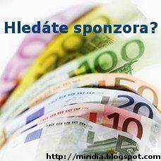 °MIRIDIA° blog: Budu Tě sponzorovat II.
