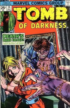 Tomb of Darkness Issue # 9 (Marvel Comics) Stan Lee Presents Ec Comics, Horror Comics, Horror Art, Marvel Comics, Dark Comics, Horror Books, Marvel Comic Books, Comic Books Art, Book Art