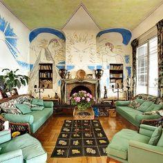 Villa Santo Sospir (St-Jean-Cap-Ferrat, France): Top Tips Before You Go - TripAdvisor Before After Home, Villa, Miss Moss, Jean Cocteau, 2017 Design, Set Design, Ferrat, Mid Century House, French Riviera