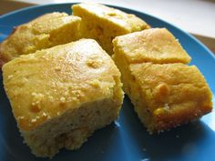 This cornbread is amazing! Added about a cup a frozen corn too :)