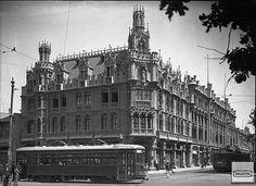 Santiago de Chile, Estado con Alameda  1926