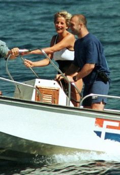 Rather than stay in London for the summer of July 1997, I head south to play in the sun?: Princess Diana 1997