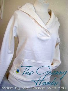Made by Me. Shared with you.: The Granny Hoodie...A Tutorial