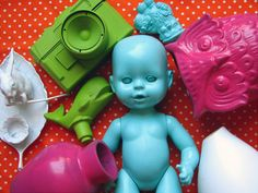 Spray paint old objects to look fab