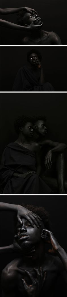 An Examination of the Color Black in Gorgeous Portraits by Yannis Davy Guibinga