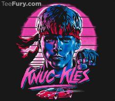 Kung Fury t-shirt.