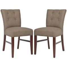 Upholstered Dining Chairs Dining Chair Set And Linen