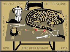 Mikkeller / Keith Shore Beer Geek Brunch Poster–The Festival