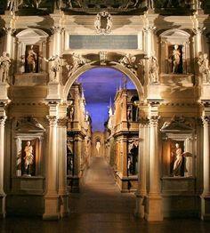 Teatro Olimpico ofAndra Palladio, Vicenza, Veneto