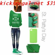 green converse all star shoes $35  So wearing this #converse #outfit!!!