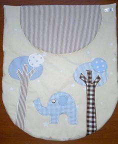 Colcha-edredón para capazo de bebé patchwork
