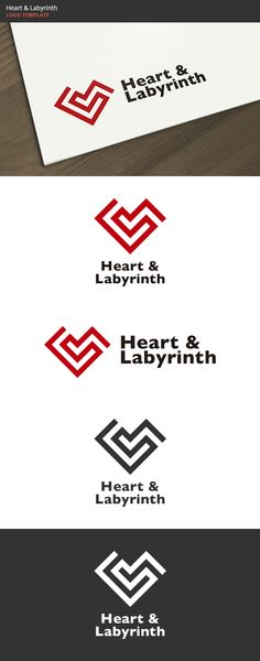 Heart & Labyrinth Logo #GraphicRiver Heart & Labyrinth: a logo that can be used in hospitals and health clinics heart in cardiac health websites in technological companies, software and applications, among other uses. Its design is very simple and is easy to configure. This ready to print. Customizable 100% CMYK AI – EPS – PSD Font used Gill Sans Bold If12November13 GraphicsFilesIncluded: PhotoshopPSD #VectorEPS #AIIllustrat