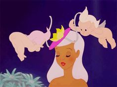 "one of my favorite parts of the movie! A flirty askew hat and a pouty red lip never go out of style. | 18 Flawless Beauty Tips From ""Fantasia"" Centaurs"