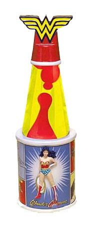 Wonder Woman Lava Lamp