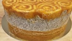 Mákos charlotte torta formában Food And Drink, Pudding, Baking, Poppy, Skillet, Custard Pudding, Bakken, Puddings, Backen