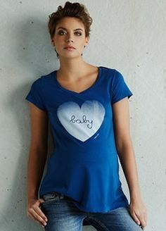Cool slogan tee for those days when you want to state the obvious! $72.95 #mumtobe #stylishpregnancy #maternitytee