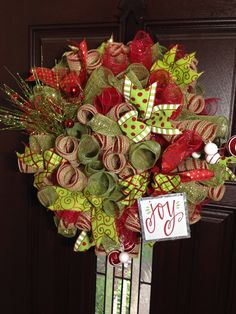 A personal favorite from my Etsy shop https://www.etsy.com/listing/468491860/christmas-wreath-curly-loop-wreath-wall